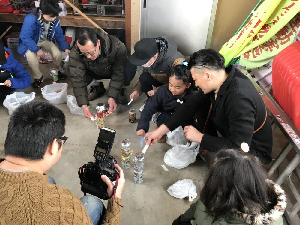 【自主防災事業】空き缶で炊飯体験を開催しました